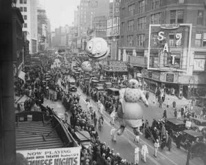 Photos: Macy's parades of yesteryear