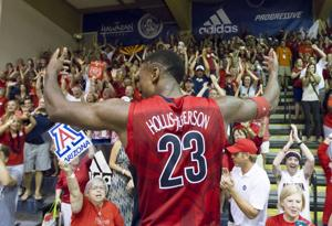 Photos: No. 3 Arizona 61, No. 15 San Diego State 59