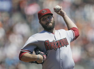 Hill, Miley lead way for D-backs