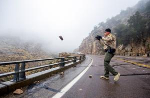 Photos: Rain, fog, snow