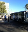 Bus hits downtown Tucson shade structure, riders detoured