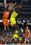 Final Four Michican 61, Syracuse 56 Wolverines solve tough zone defense of Syracuse