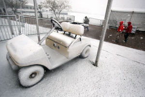 WGC-Accenture Match Play Championship: Tee times rescheduled after snow disrupts first round