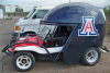 UA to auction off helmet-shaped car