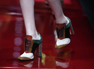 Photos: Faces and feet at Milan Fashion Week