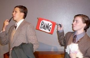 St. Gregory students present comedic murder mystery