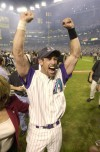 Nov. 4, 2001 Arizona Diamondbacks win the World Series