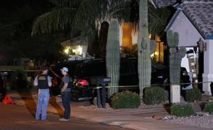 Police say 5 adults found dead inside Phoenix home
