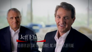 Flake touts Kyl endorsement in new TV ad