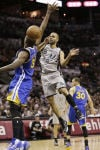NBA playoffs: Maniacal Spurs dominate Warriors