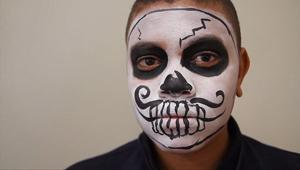 Paint your face for the All Souls Procession