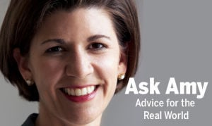 Ask Amy:  Millennial 'robot' ponders next phase