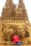 Amazing sand creations