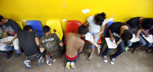 For Mexican child migrants, getting caught means failure