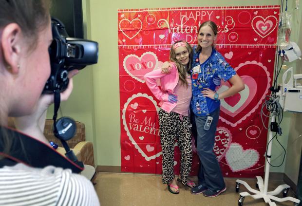 Valentine's Day at Diamond Children's Center