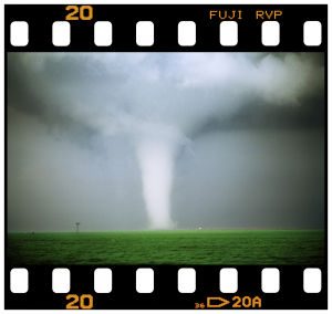 Storm chasing photographer pursues a varied career