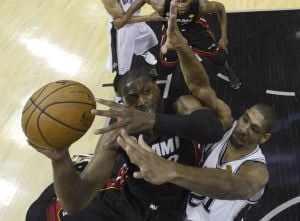 NBA Finals: Heat 109, Spurs 93: Miami's Big Three come up big