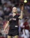 The view from the booth: Jennie Finch still loves game, UA