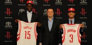 Ex-Wildcat Johnson to wear No. 3 for Rockets