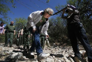 Photos: Border safety & rescue demonstration