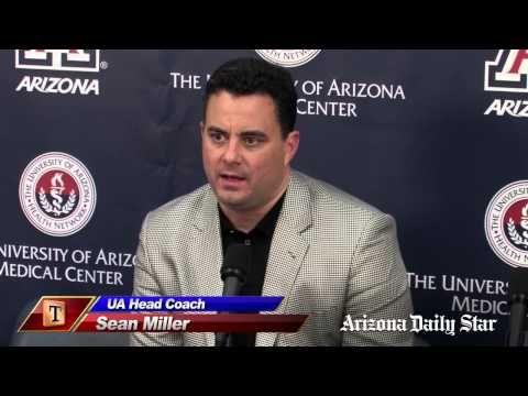 Sean Miller and players on Oakland win