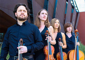String quartet, lectures featured at Academy