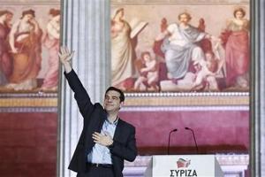 Tsipras juramenta como primer ministro de Grecia