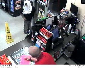 Sheriff's detectives looking for robbery suspect