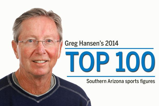 Greg Hansen's Top 100 sports figures of 2014