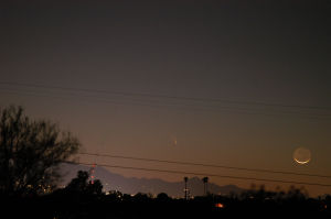 Comet Pan-STARRS photo