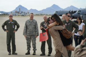Airmen in your community: Airmen return home