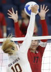 UA volleyball: Harris standing tall for surging Wildcats