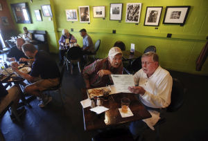 At gastropub, art comes free on side