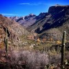 'A perfect morning' near Sabino Canyon