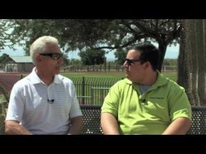 Daniel interviews Coach Jeff Scurran