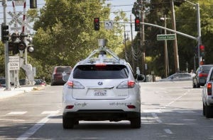 Goal: Google driverless cars on market within 5 years