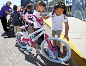 Bike program encourages reading in Amphi district