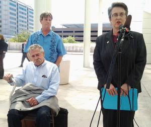Same-sex survivor is victorious in federal court