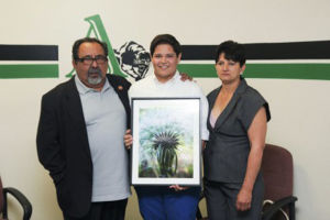 2 Amphi district students win art competition