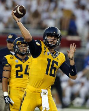 Cal's Goff shined in heartbreaking loss