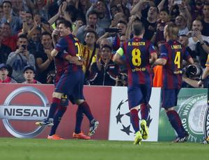 Campeones: Messi y Neymar anotan y Barsa gana