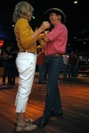Friday nights at Maverick mean country dance lessons