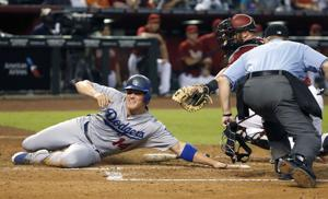 D-backs fall to Dodgers 4-3