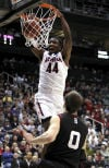 NCAA tournament West Region No. 6 Arizona 74, No. 14 Harvard 51 Another day at beach