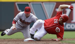 Diamondbacks vence a Rojos con jonrón de Goldsmith