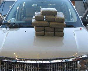 4 arrested in border drug busts