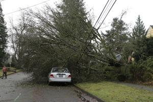 Photos: West coast storms