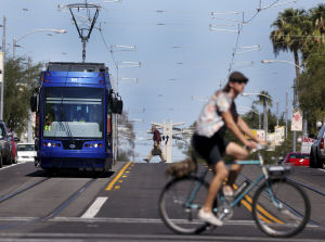 More than 80 bike crashes documented on Tucson's new streetcar tracks