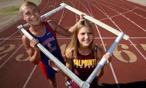 2013 spring high school all-stars: Girls and boys track & field