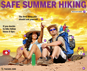 Interactive: How to stay safe when hiking